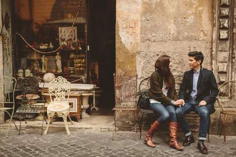 engagement photography rome