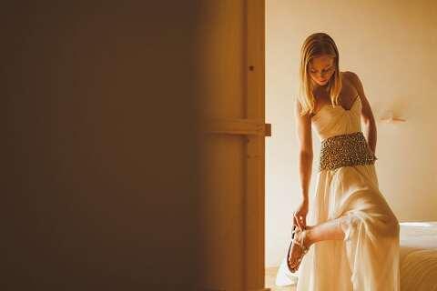 Bridal preparations Italy wedding