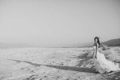 Wedding in desert