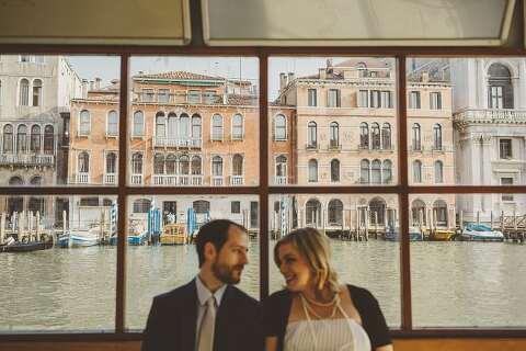 Venice engagement photographs