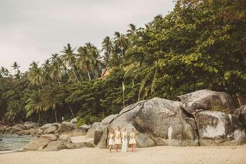 Surin beach wedding