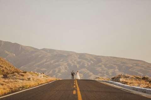 Desert wedding photographs