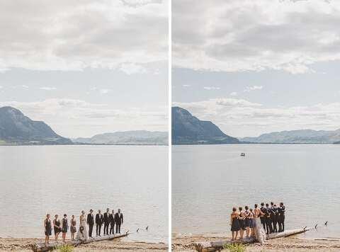 Shuswap Lake Wedding