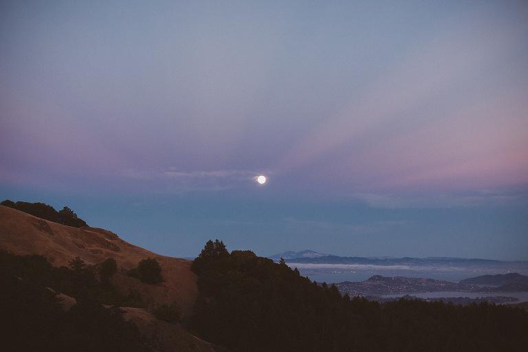 Mount Tamalpais Engagement Session
