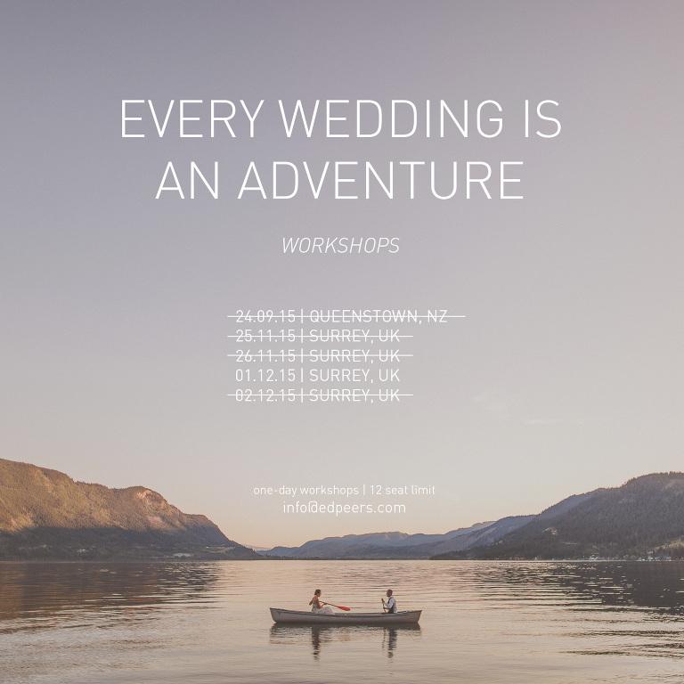 Ed Peers Wedding Photography Workshops