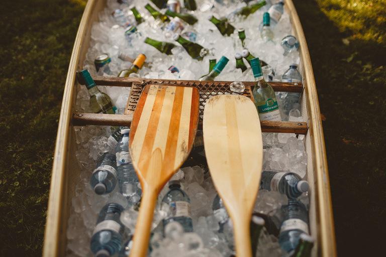 kayak wedding