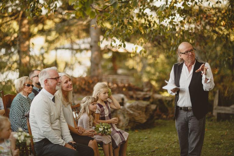 Pigeon Lake Wedding