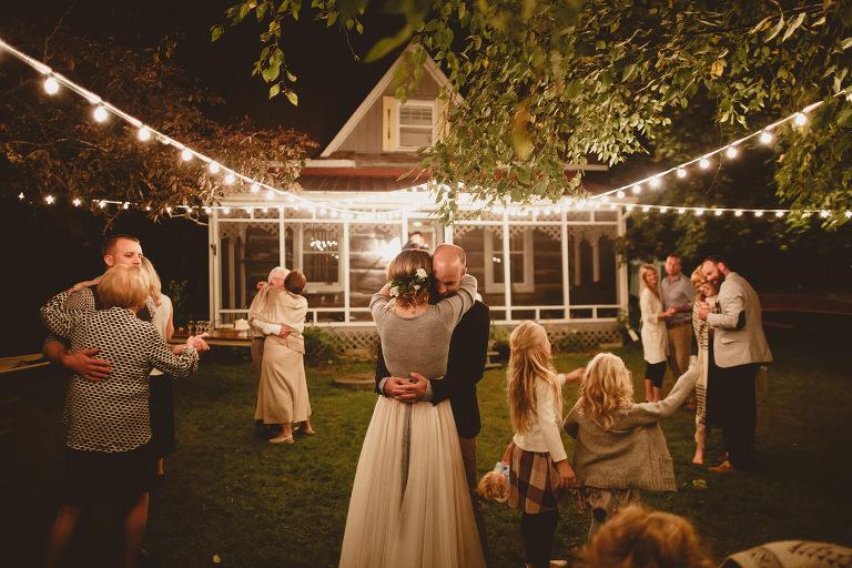 backyard diy wedding