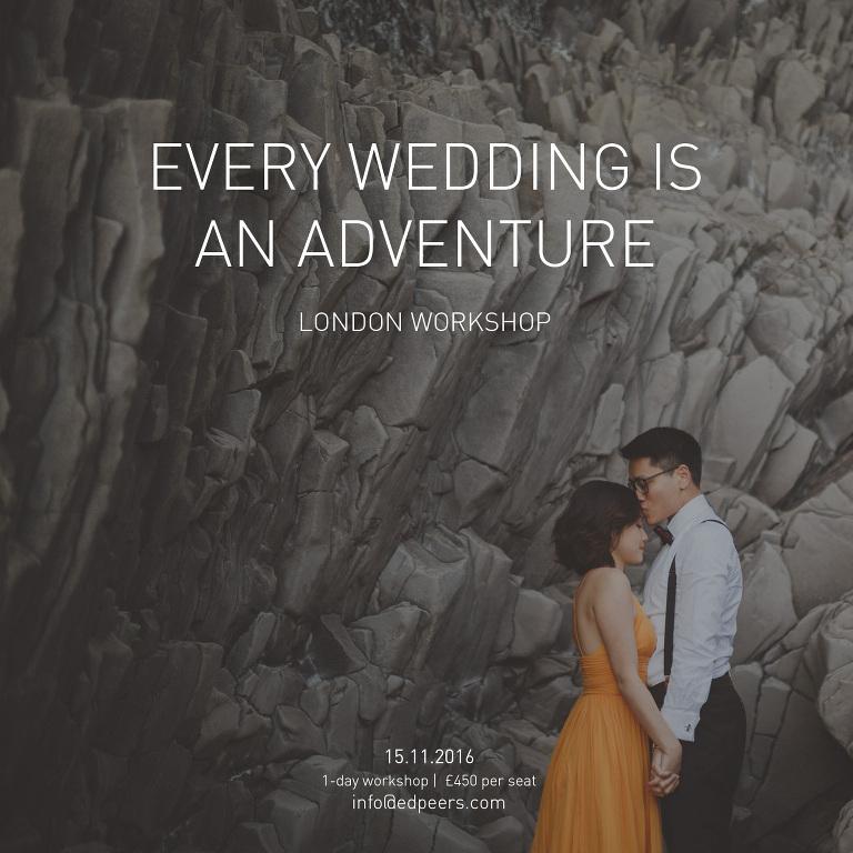 Ed Peers Wedding Photography Workshop
