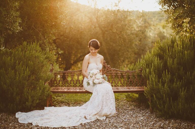 Tuscany destination wedding photographer