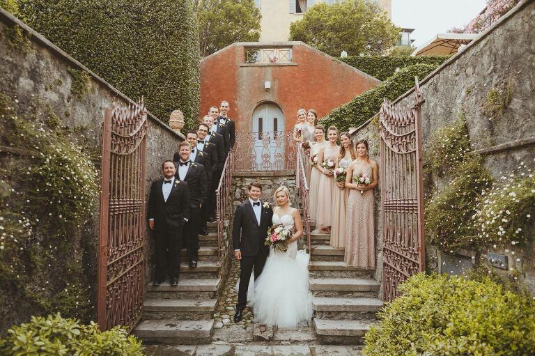 Villa Regina Teodolinda wedding